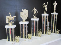 Trophies at Trophy Case of Naples